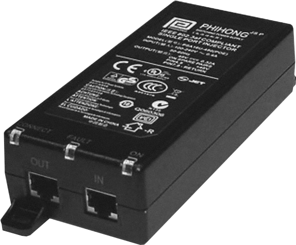 power over ethernet injector power supply